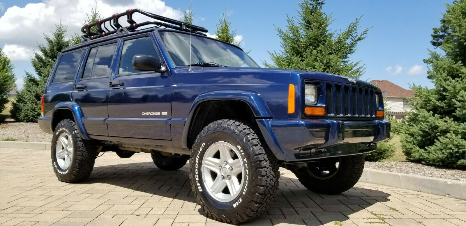 2001 Jeep Cherokee Xj 4 4 Lifted Limited Edition For Sale